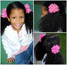 "2 Solid 3"" Grosgrain Ribbon Korker Hair Bows by ElegantCreationsByCC, $7.99"