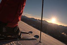 L'emozione di sciare alle prime luci dell'alba con Visit Trentino. Si chiama #trentinoskisunrise ed è un'esperienza da provare almeno una volta nella vita! #VisitTrentino