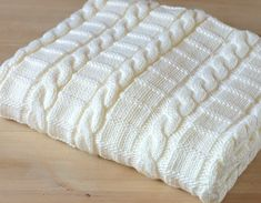 baby blanket East Knitting Pattern for Baby Blanket/Throw - This listing is a Knitting Pattern and NOT a finished Item. Easy Knitting Pattern for Blanket in Three sizes - instructions w Make Blanket, Chunky Blanket, Crib Blanket, Afghan Blanket, Baby Knitting Patterns, Baby Patterns, Crochet Patterns, Easy Knitting, Knitting For Beginners