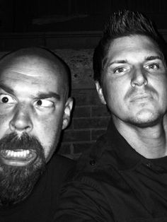 """Gettin ready to be locked inside of a dark place with this guy. Im scared."" - Zak Bagans"