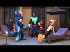 Big Hero 6 Fall out Boys: Immortals Official video - YouTube