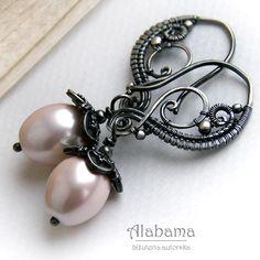 Perłowe dzwoneczki Biżuteria Kolczyki Alabama