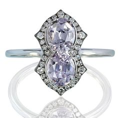 What can make an already stunning jewel even more desirable? Its attractive price! Discover our line of luxury jewellery for every day here. #Lavander #color #spinel #burma #handcrafted #ivy #ivynewyork #ivymini www.ivynewyork.com