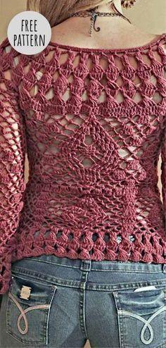 Crochet Dress Cream once Crochet Baptism Dress For Baby Girl . Fancy Dress Fashion Show their Dress Fashion 2018 In Pakistan under Crochet Doll Clothing Patterns Free T-shirt Au Crochet, Beau Crochet, Cardigan Au Crochet, Pull Crochet, Mode Crochet, Black Crochet Dress, Crochet Jacket, Crochet Woman, Crochet Cardigan