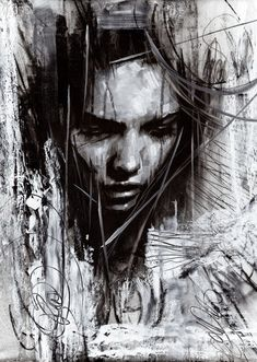 Hipster Drawings, Cool Drawings, Drawing Faces, Manga Drawing, Pencil Drawings, Painting Corner, Painting & Drawing, Drawing Tips, Abstract Charcoal Art