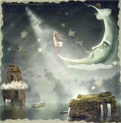 Lune d'Argent - Illustration de Natalia Maroz