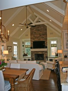 Eclectic Family Room Design, Pictures, Remodel, Decor and Ideas - page 19
