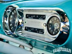 1953 Chevrolet Bel Air Gauge Cluster