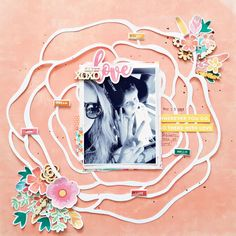 Love Layout by Zsoka Marko featuring Jillibean Soup Bowl of Dreams collection.