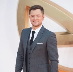 Taron Egerton at the Kingsman: The Golden Circle premiere in London.