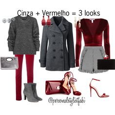 Chic!! by fabipcandido on Polyvore featuring moda, Belstaff, Lands' End, Armani Jeans, Topshop, NLY Trend, Gucci, L'Autre Chose, Christian Louboutin and Edie Parker