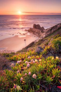 Photograph Last Light by Antonio Cunha ~  Paredes da Vitória beach, Pataias (Alcobaça) - Portugal*