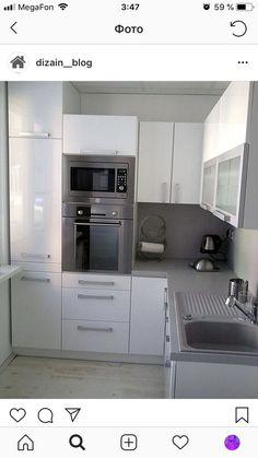 39 Trendy Home Renovation Hacks Kitchen Room Design, Kitchen Interior, Interior Design Living Room, Kitchen Decor, Small Apartment Interior, Small Apartment Kitchen, Apartment Design, Cuisines Design, Trendy Home