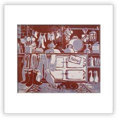 Diana Miller - Press Gang Printmakers