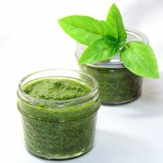 Inspired By eRecipeCards: Fresh Summer Basil Mint Pesto