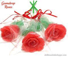 Dollhouse Bake Shoppe: Simple Gumdrop Roses