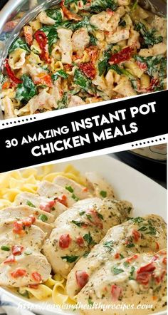 30 Amazing Instant Pot Chicken Meals – Page 2 – My Recipes and Meal Plans Instant Pot Pressure Cooker, Pressure Cooker Recipes, Slow Cooker, Pressure Cooking, Crockpot Recipes, Cooking Recipes, Healthy Recipes, Healthy Meals, Cooking Tips