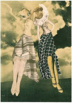 Hannah Hoch. Work in collections of Berlinische Galerie and Neue National Galerie