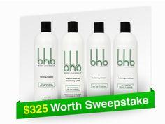 $325 Worth BHB SWEEPSTAKES.  http://www.bhbhair.com/sweepstake/