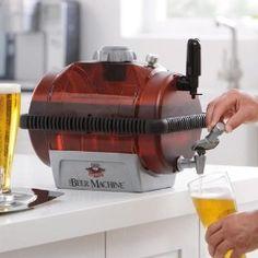 brookstone: the beer machine. $99.99 (via gifts.com #WinAGift)