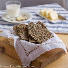 Gluten-Free, Dairy-Free Crisp Bread   Low-Carb, So Simple!