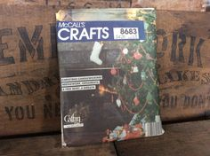 Vintage Estate McCall's Crafts 8683 Pattern by MADVintology, $5.00