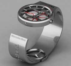 Tag Heuer/Mercedes watch designed by Peter Vardai
