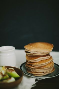 Apple Cider Pancakes - Sincerely, Kinsey