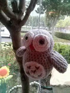 uiltje uit tendre crochet