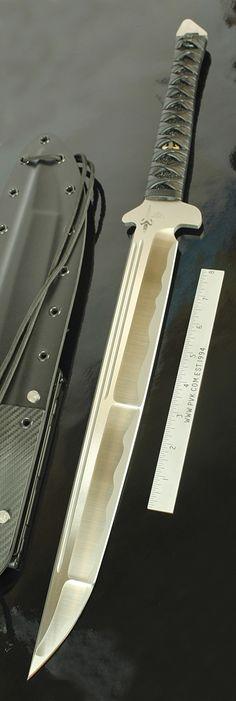 Marfione Custom Combat Wakizashi Blade