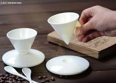 ceramic mugs Ceramic Cone Coffee Mug Coffee Mug Sets, Mugs Set, Coffee Cone, Ceramic Tableware, Ceramic Mugs, Pottery Mugs, Ceramic Pottery, Ceramic Cafe, Vase Deco