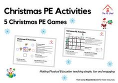 5 Christmas PE Games and activities
