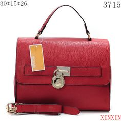 Michael Kors Messenger Bags - red with Metal Decoration