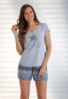 4fe703d0c Pijama verano Massana. Sencillez y comodidad uno de los conjuntos favoritos  de la colección de pijamas  massana.