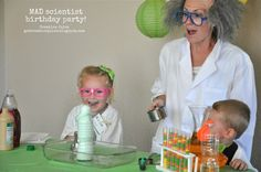 Mad Scientist Birthd