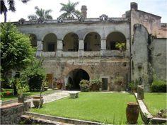 Hacienda santa cruz vista alegre. Morelos mexico