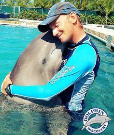 Cancún i debe nadar con los delfines