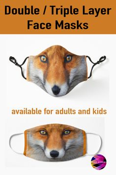Face Mask with Fox for #Covid19 by Scar Design. Stay Safe in Style with cool Cloth Masks. Buy yours at my #redbubble store #fox #animal #foxes #rabbits #cute #clothfacemask #mask #facemask #clothmask #coronavirus #virusmask #facemasks Fox Animal, Animal Masks, Gaming Posters, Fox Face, Alternative Movie Posters, All Things Cute, Samsung Galaxy Cases, Family Gifts, Stay Safe