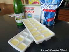 Homemade Dishwasher Detergent Cubes Recipe » The Homestead Survival