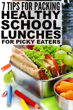 If you were fortunate enough to give birth to a picky eater (like me!) and need advice on how to pack nutritious and healthy school lunches, these tips are for you! Numbers 2, 4, and 7 have made the biggest difference with my daughter, and the sample bento box ideas are really inspiring! #ad