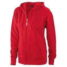 JN053 Ladies  Hooded Jacket