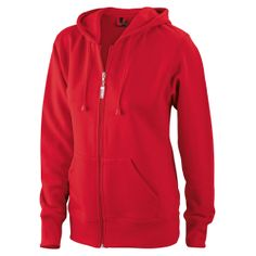 JN053 Ladies  Hooded Jacket