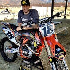Davi Millsaps - on Rock Star Energy KTM Motocross Racer eee6b26d5d1e