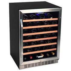 View the EdgeStar CWR531SZ 24 Inch Wide 53 Bottle Built-In Wine Cooler at Build.com.