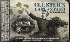 Smuttynose & Stone colab