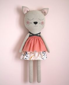 Handmade kitty doll by Anabela Félix - www.blita.etsy.com