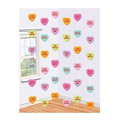 Shindigz Valentines Party Decorations Candy Hearts String Decorations 6/pack Shindigz http://www.amazon.com/dp/B00SJ8GGL2/ref=cm_sw_r_pi_dp_aT5Mwb08KNFHH