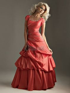 Night Moves Modest Prom Dress 6320M by TJ Formal, via Flickr- absolutely gorgeous+no alterations needed:)