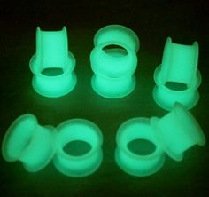 new 2pcs/ lot body jewelry piercing glow in dark plug silicone flesh tunnel ear expander pricing for men boucle d'oreille homme♦️ B E S T Online Marketplace - SaleVenue ♦️👉🏿 http://www.salevenue.co.uk/products/new-2pcs-lot-body-jewelry-piercing-glow-in-dark-plug-silicone-flesh-tunnel-ear-expander-pricing-for-men-boucle-doreille-homme/ US $1.36