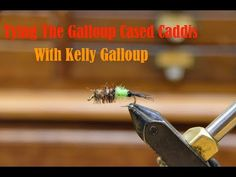 Tying the Galloup Cased Caddis - YouTube